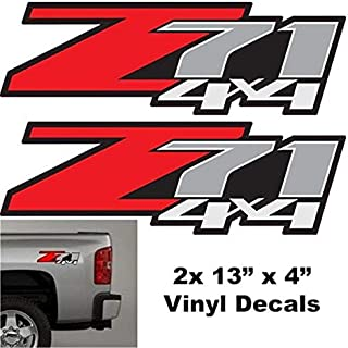 Best z71 4x4 decals Reviews