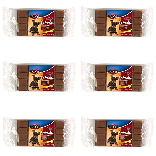 TX-2973 Mini Chocolade Dog Chocolate zwart 30g