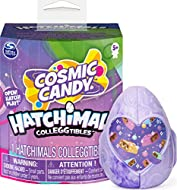COSMIC CANDY HATCHIMALS: These Hatchimals are full of really sweet details! There are over 50 out-of-this-world characters, each one with 1 of 12 mystery features – gummy, fuzzy, helmet and more! A NEW HATCH: Peel, reveal and hatch all-new eggs! Peel...