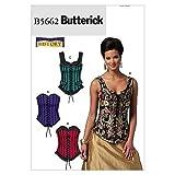 McCall's Patterns Butterick B5662 - Patrón con Instrucciones para Coser corsés de Mujer ...