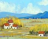 Landschaft Stillleben Leinwand Malerei Poster Wohnzimmer