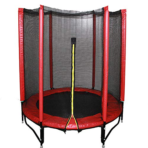 XM&XN Junior Trampoline With Safety Net Enclosure,Spring Cover Padding,Jumping Mat,Parent-Child Family Outdoor Fun