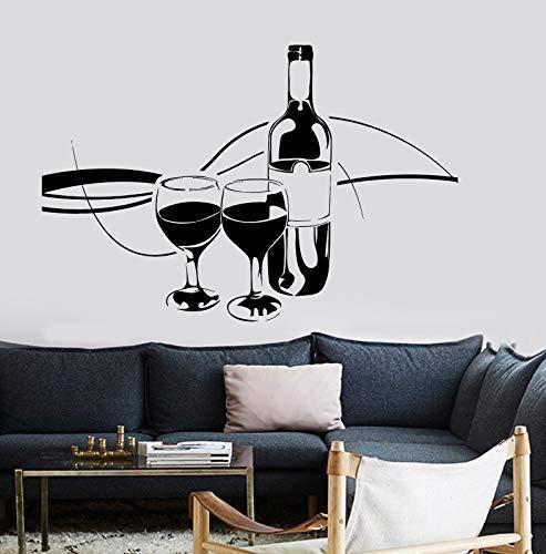 yaonuli Decal restaurant keuken muur vinyl kaart
