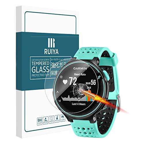 Protector de vidrio templado Ruiya, ultraclaro, protector de pantalla, dureza 9H, para Garmin-Forerunner 235, para reloj de pulsera de correr, antiarañazos, grosor de 0,25mm