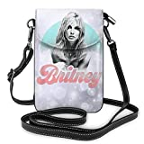 Britney Spears - Bolso bandolera para teléfono celular, paquete de tarjetas, para mujer