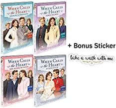 When Calls The Heart: Season 5 Movies 1-4 Hallmark Channel DVD Collection with Bonus Sticker