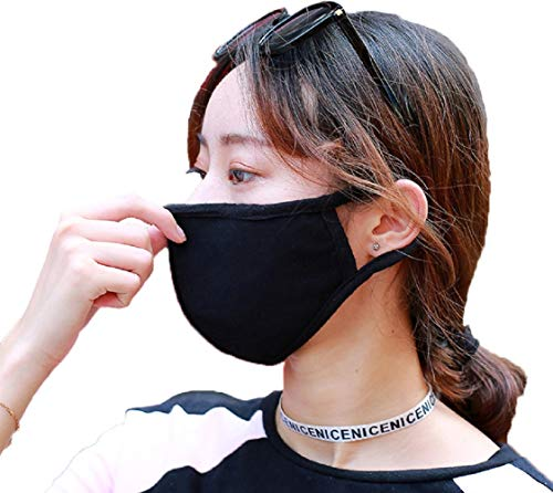 Facial Protection Filtration 95%, Anti-Fog, Dust-Proof washable Headgear Full Face Protection Masks