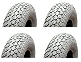 PUNCTURE PROOF MOBILITY SCOOTER TYRES 400-5 330 x 100 - FULL SET (4) - MOBILITY SCOOTER SOLID TYRES