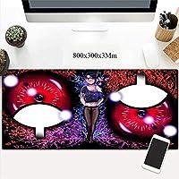 マウスマットラージマウスMatAnimationをゲーミング|3MmThickness |オフィスに適した、ゲームをプレイ (Color : B)