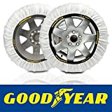 GOOD YEAR Goodyear GOD8015 Coppia di Calze da Neve per Pneumatici da Turismo Ultra Grip Taglia XL...