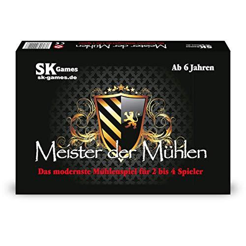Stefan König Meister der Mühlen - Das modernste Mühlenspiel (von SK Games)