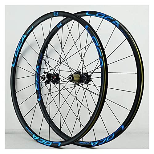 YBNB Ruedas De Ciclismo MTB De Aleación De Aluminio De 26 Pulgadas Freno De Disco De Liberación Rápida De Aleación Compatible 8-12 Velocidades