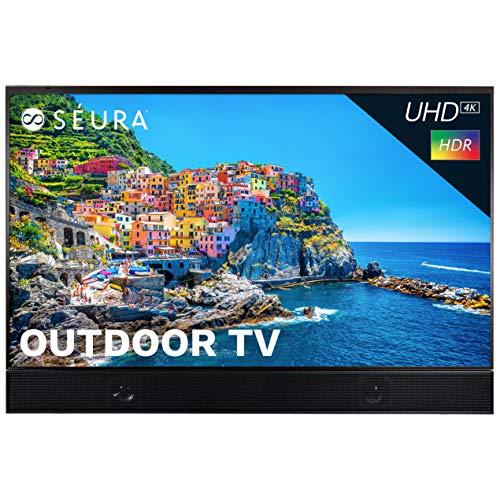 Seura Shade Series 2 55-inch Weatherproof 4K Ultra HD Outdoor TV with Soundbar (2nd Gen)