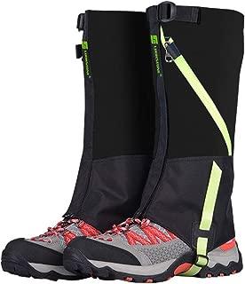 ayamaya Hiking Gaiters Waterproof Kids' Snow Leg Gaitors, Breathable High Boots Children Shoe Cover Snake Ski Gaiters for Outdoor Sports Walking Hunting Climbing Mountain Snowboarding