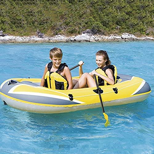 ZXQZ Kayak Kayac, Kayaks de Turismo para 2 Personas, Barco de Pesca Inflable Portátil