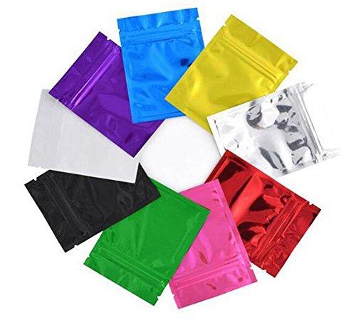 100 bolsas de embalaje de aluminio para sellado al vacío Zi