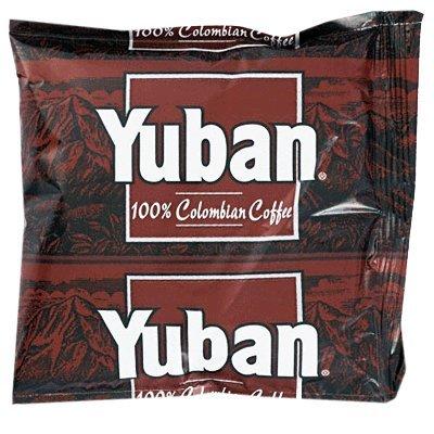 Yuban 1.5oz Regular Roast Ground Coffee 42 portion packs