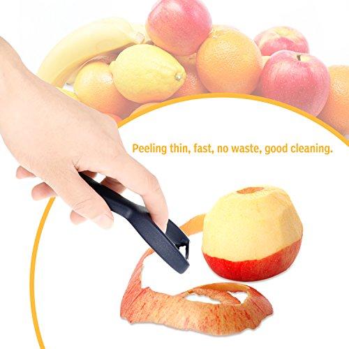 Tagefa Potato Peeler Y Shaped Vegetable Peeler, Premium Ultra Sharp Fruit Peeler for Kitchen
