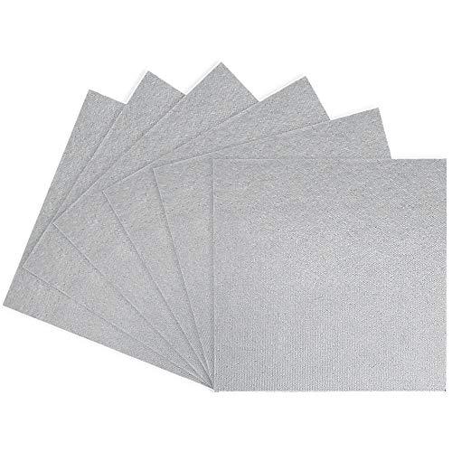 6 Stück Glimmerscheibe Hohlleiterabdeckung Mikrowellen Ersatzteile für Mikrowelle Blätter Glimmerplatten Ofen Reparatur Teil Platten 13X13cm