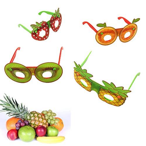 cxnwuggfvsc Divertidas gafas de frutas para fiestas de disfraces de niños de juguete para fotos de regalo