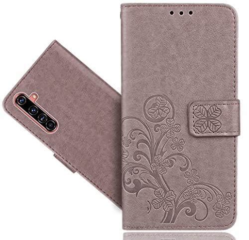 WenTian Realme X50 Pro Handy Tasche, HülleExpert® Wallet Hülle Cover Flower Hüllen Etui Hülle Ledertasche Lederhülle Schutzhülle Für Realme X50 Pro