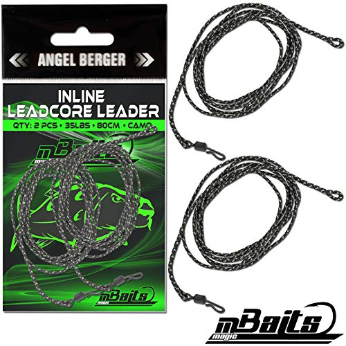 Angel-Berger Magic Baits Inline Leadcore Leader Karpfenmontage Carptackle