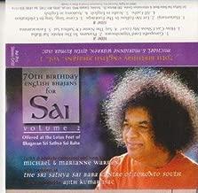 70th Birthday English Bhajans for Sai - Volume 2