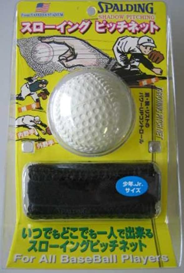 ホップ中に論争の的SPG-1062 スローイングピッチネット(少年用C号ボール付)