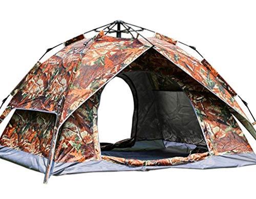 Isabella Fashion Automatische Camping Tent, Oxford doek waterdichte zonnebrandcrème Een verscheidenheid van doel tent voor 3-4 personen Waterdicht, picknick, wildernis, winter vissen tent