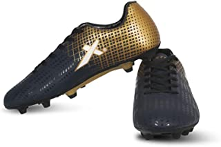 Vector X Ozone Football Shoes (Navy-Gold)