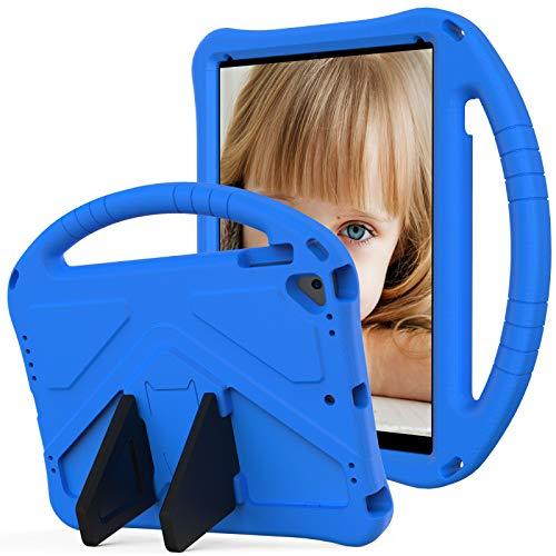 SZCINSEN Funda para iPad Air 2, iPad Pro 9.7, para niños Eva a prueba de golpes, ligera, a prueba de caídas, con asa grande, funda protectora resistente para iPad 6 (color azul)