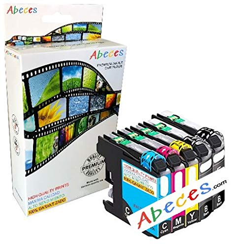 ABECES HP 364 Pack 5 Cartuchos Alta Capacidad COMPATIBLES con CB321EE CB316EE CB323EE CB324EE CB325EE HP Photosmart 5520 7510 5510 7520 5522, HP Officejet 4620, HP Deskjet 3520 3070A