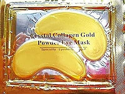 30 x Premium Crystal Collagen Gold Powder Eye Masks Face Pad Anti Ageing Wrinkle HQ Masks by Mabs