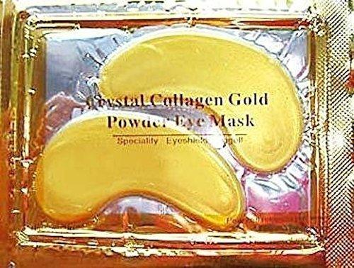 Gesichtsmasken mit Kristallkollagen, Goldpuder, Anti-Aging-, Anti-Falten-Masken, 30 Stück