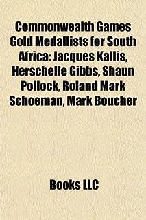 Commonwealth Games Gold Medallists for South Africa: Jacques Kallis, Herschelle Gibbs, Shaun Pollock, Roland Mark Schoeman, Mark Boucher