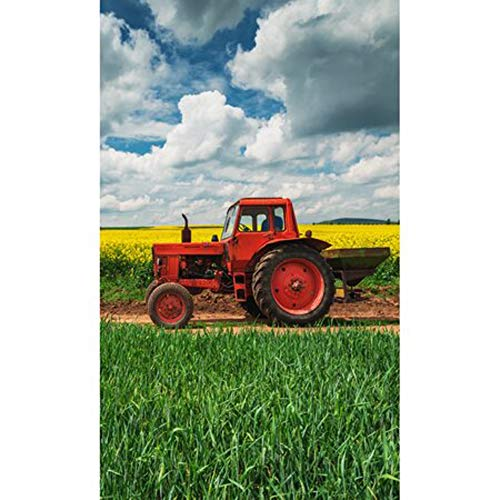 Carbotex Trecker Traktor Kinder-Handtuch 30 x 50 cm