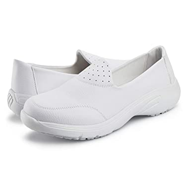 Hawkwell Women's Comfort Work Shoes Slip Resistant Nursing Shoes