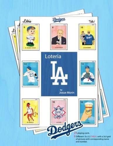 Ruthlezz Society Los Dodgers Loteria