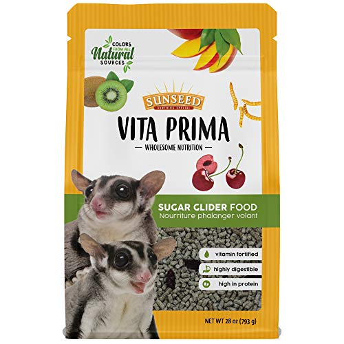 Sunseed Vita Prima Wholesome Nutrition Sugar Glider Food, 1.75 LBS