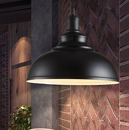 MiniSun Suspension moderne rétro Loft Style Simplicity Art Noir