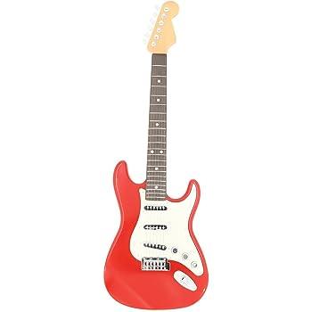 YAKOK 6 Cuerdas Guitarra Electrica Niños Guitarra Juguete para ...