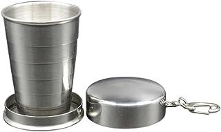 Babysbreath17 Duradero Acero Inoxidable Frascos de Agua café Taza de té de Agua Botella Plegable Recorrido Que dobla la Taza de café Taza de Agua Portable al Aire Libre Té Vaso