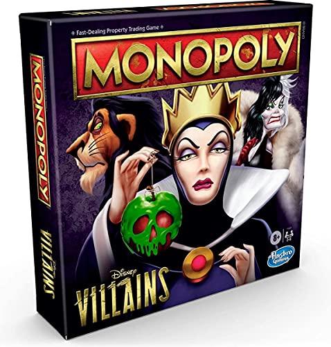 Disney Villains Monopoly Board Game