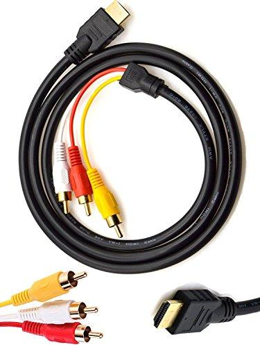 look see - Cable HDMI a RCA, 1,5 m HDMI macho a...