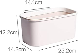 Environmentally-friendly Trash Can Kitchen Hanging Storage Box for Kitchen, Living Room, Bathroom (Color : A, Size : M)