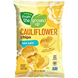 All that and a bag of cauliflower chips. Turn up your snack game with delicious sea salt flavor! How's that for salty? CERTIFIED snacking that's GLUTEN FREE, VEGAN, and NON-GMO PROJECT VERIFIED Would you like MORE VEGGIES with that? We'll throw in ad...