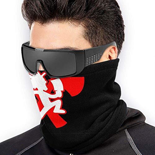 xiangyan11 Beil Mans Staub Wind UV Sonnenschutz Elastic Seaml Fleece Halswärmer Sturmhaube Hals Gamasche Bandana Gesichtsschutz