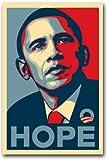 Barack Obama seltenes Kampagne Poster–11x