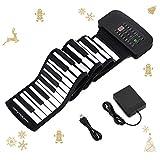 Donner Piano Souple Clavier Enroulable 88 Touches Portable avec...