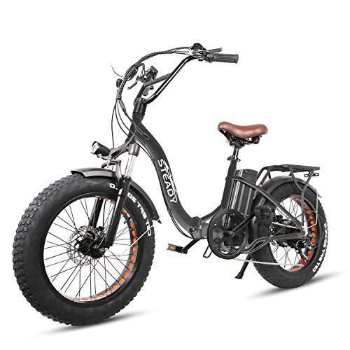 "Trekpower 20"" Electric Bikes for Adults, Dual Disc Brake Electric Mountain..."